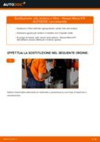 Tutorial di riparazione e manutenzione Nissan Micra 5