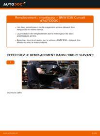 Comment effectuer un remplacement de Amortisseurs sur 320i 2.0 BMW E36