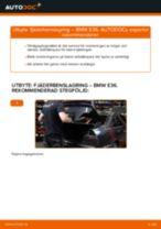 Byta fjäderbenslagring bak på BMW E36 – utbytesguide