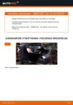 PDF med trinn for trinn-veiledning for bytte av BMW E61 Glødelampe Nummerskiltlys