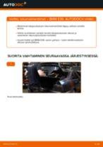 Kuinka vaihtaa iskunvaimentimet taakse BMW E36-autoon – vaihto-ohje