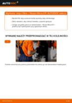 Wymiana Filtr oleju NISSAN MICRA: instrukcja napraw