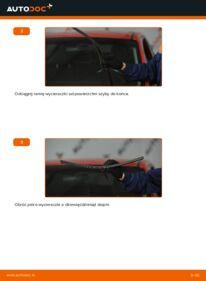 Jak przeprowadzić wymianę: Pióro wycieraczki w MAZDA 3