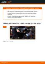 Kako zamenjati zadaj in spredaj Blažilnik BMW 3 (E36) - vodič spletu