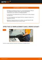 Santa Fe 4 tutoriel de réparation et de maintenance