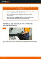 Tipps von Automechanikern zum Wechsel von HYUNDAI Hyundai Santa Fe cm 2.2 CRDi GLS 4x4 Stoßdämpfer
