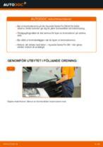 Byta Torkarmekanism bak och fram Audi A4 B5 Avant: guide pdf