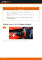 Byta Upphängning automatväxellåda MAZDA 3: online guide