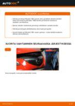 Automekaanikon suositukset MAZDA Mazda 3 Sedan 1.6 DI Turbo -auton Jarrulevyt-osien vaihdosta