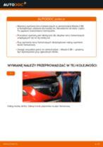 Samodzielna wymiana Tarcze hamulcowe tylne i przednie MAZDA - online instrukcje pdf