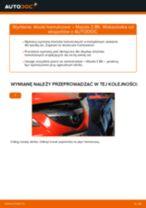 Samodzielna wymiana Zestaw klocków hamulcowych tylne i przednie MAZDA - online instrukcje pdf