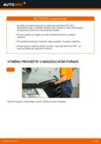 Jak vyměnit přední a zadní Brzdové Destičky ISUZU udělej si sám - online návody pdf
