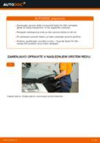 Avtomehanična priporočil za zamenjavo HYUNDAI Hyundai Santa Fe cm 2.2 CRDi GLS 4x4 Metlica brisalnika stekel