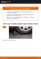 Changement Cylindre De Roue gauche et droit MERCEDES-BENZ 190 : guide pdf
