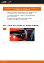 Come cambiare è regolare Kit riparazione pinza freno MAZDA 3: pdf tutorial