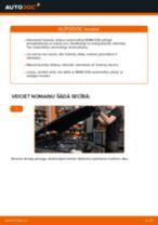 Rokasgrāmata PDF par X3 apkopi