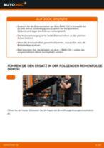 Wie Scheibenbremsen belüftet beim BMW 3 (E36) wechseln - Handbuch online