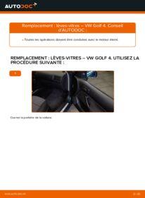 Comment effectuer un remplacement de Lève-Vitre sur 1.4 16V VW Golf IV