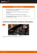 Online käsiraamat Pidurisadul iseseisva asendamise kohta Audi 80 B3