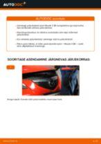 MAZDA 3 Lisakomplekt, Ketaspidurikate vahetamine: juhend online