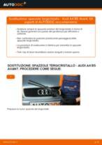 Come cambiare spazzole tergicristallo della parte anteriore su Audi A4 B5 Avant - Guida alla sostituzione