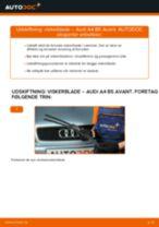 Udskift viskerblade for - Audi A4 B5 Avant | Brugeranvisning