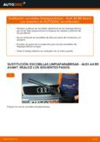 Cómo cambiar: escobillas limpiaparabrisas de la parte delantera - Audi A4 B5 Avant | Guía de sustitución