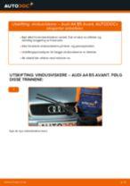 Mekanikerens anbefalinger om bytte av AUDI Audi A6 C5 Avant 1.9 TDI Bærebru