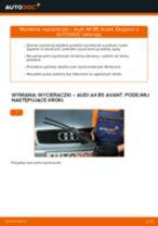 Zalecenia mechanika samochodowego dotyczącego tego, jak wymienić AUDI Audi A6 C5 Avant 1.9 TDI Zacisk hamulca