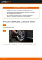 Mudar Tirante da Barra Estabilizadora BMW 3 SERIES: manual técnico