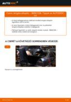 BMW 3 SERIES Tartozékkészlet, tárcsafékbetét cseréje : ingyenes pdf