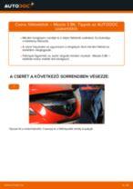Útmutató PDF 323 S VI Sedan (BJ) 1999 karbantartásáról