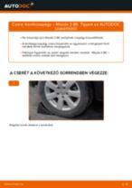 MAZDA 3 Kerékcsapágy készlet cseréje : ingyenes pdf