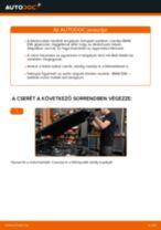 Hogyan cseréljünk első és hátsó Ablaktörlő Opel Vectra C Caravan - kézikönyv online