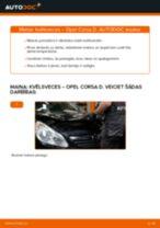 Opel Corsa D: kvēlsveces – nonomaiņas rokasgrāmata