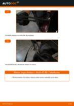Audi A3 8L1: aizmugurē logu slotiņu – nomaiņas rokasgrāmata