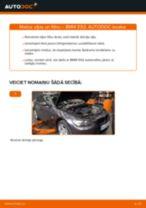 Bremžu loku komplekts priekšā un aizmugurē maiņa BMW F20: ceļvedis pdf