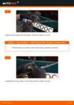 VW Passat B5 Variant: aizmugurē logu slotiņu – nomaiņas rokasgrāmata