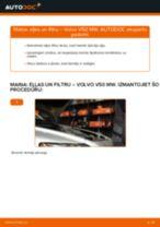 Volvo V50 MW: motoreļļas un filtra – nomaiņas rokasgrāmata