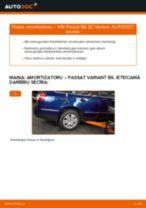 VW Passat 3C B6 Variant: aizmugurē amortizatoru – nomaiņas rokasgrāmata