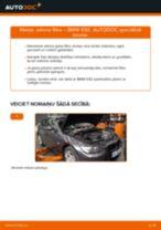 Salona filtrs maiņa BMW 3 Coupe (E92): ceļvedis pdf