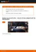 Volvo V70 SW: motoreļļas un filtra – nomaiņas rokasgrāmata