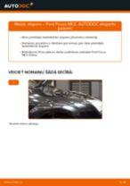 Ford Focus MK2: priekšpusē atsperu – nomaiņas rokasgrāmata