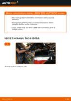 Soli-pa-solim PDF apmācība kā nomaināms BMW 5 (E60) Amortizators