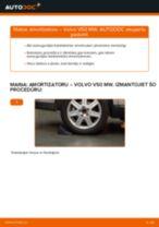 VOLVO V50 instrukcijas par remontu un apkopi
