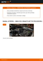 Kā nomainīt: priekšas atsperes BMW E39 - nomaiņas ceļvedis