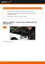 Kā nomainīt: priekšas atsperes Audi A3 8PA - nomaiņas ceļvedis