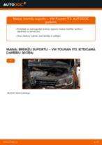 Kā nomainīt: priekšas bremžu suportu VW Touran 1T3 - nomaiņas ceļvedis
