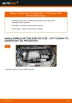 Kā nomainīt: pamatluktura kvēlspuldze VW Touran 1T3 - nomaiņas ceļvedis