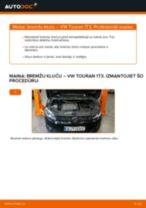 Kā nomainīt: priekšas bremžu klučus VW Touran 1T3 - nomaiņas ceļvedis